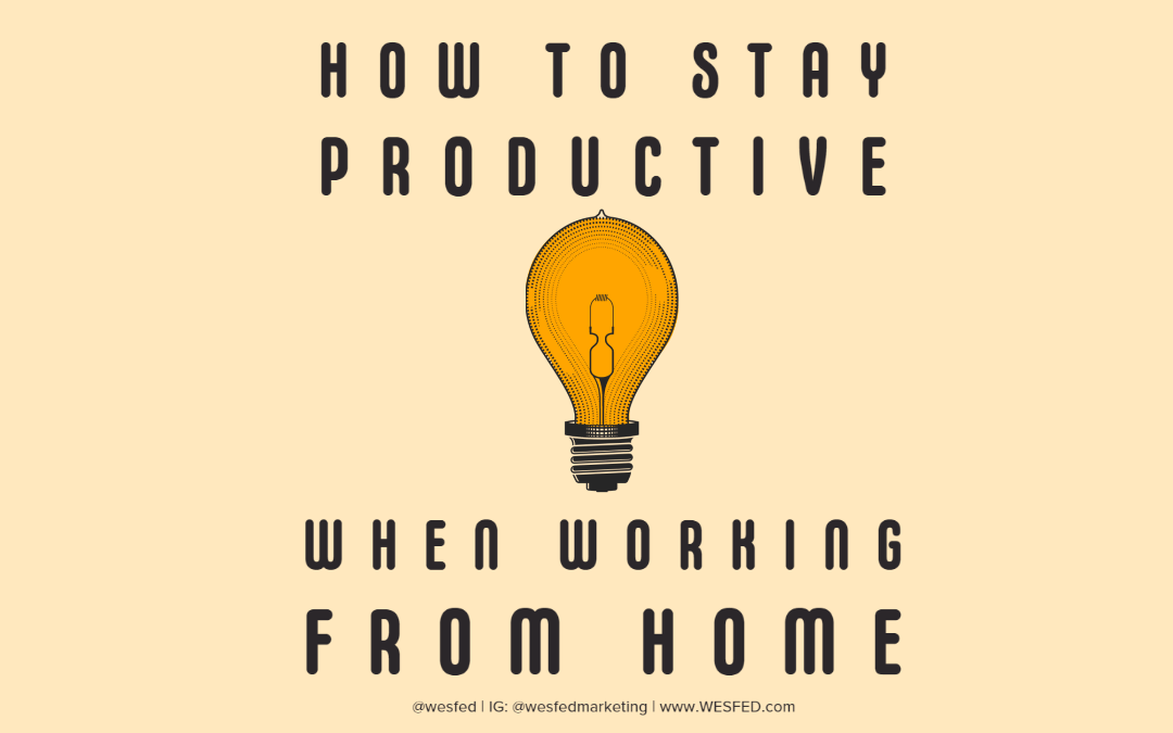 How businesses can stay productive when working from home