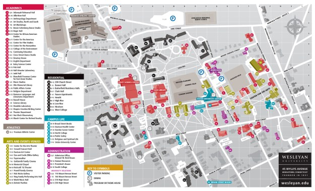 a campus map!