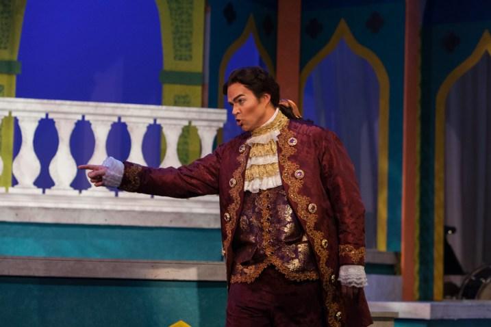 As Belmonte in St. Petersburg Opera's Die Entführung aus dem Serail