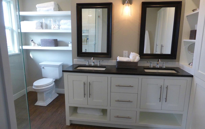 Custom Bathroom Cabinets