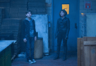 "GOTHAM: Bruce Wayne (David Mazouz, L) and Selina Kyle (Camren Bicondova, R) are in danger in the ""Lovecraft"" episode of GOTHAM airing Monday, Nov. 24 (8:00-9:00 PM ET/PT) on FOX. ©2014 Fox Broadcasting Co. Cr: Jessica Miglio/FOX"