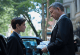 """GOTHAM: Alfred (Sean Pertwee, R) presents Bruce (David Mazouz, L) with his father's watch in the """"The Mask"""" episode of GOTHAM airing Monday, Nov. 10 (8:00-9:00 PM ET/PT) on FOX. ©2014 Fox Broadcasting Co. Cr: Jessica Miglio/FOX"""