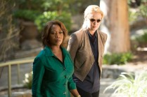 """STATE OF AFFAIRS -- """"Half the Sky"""" Episode 103 -- Pictured: (l-r) Alfre Woodard as President Constance Payton, Katherine Heigl as Charleston Tucker -- Photo by: (Neil Jacobs/NBC)"""