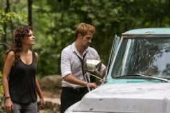"CONSTANTINE -- ""A Feast of Friends"" Episode 105 -- Pictured: (l-r) Anjelica Celaya as Zed, Matt Ryan as Constantine -- (Photo by: Tina Rowden/NBC)"