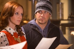 """DESCRIPTION The Librarians, Episode 107 """"And Santa's Midnight Run"""" SHOW The Librarians EPISODE # 107 EPISODE TITLE 107 PHOTOGRAPHER SCOTT PATRICK GREEN PERSONALITIES CHRISTIAN KANE, LINDY BOOTH"""