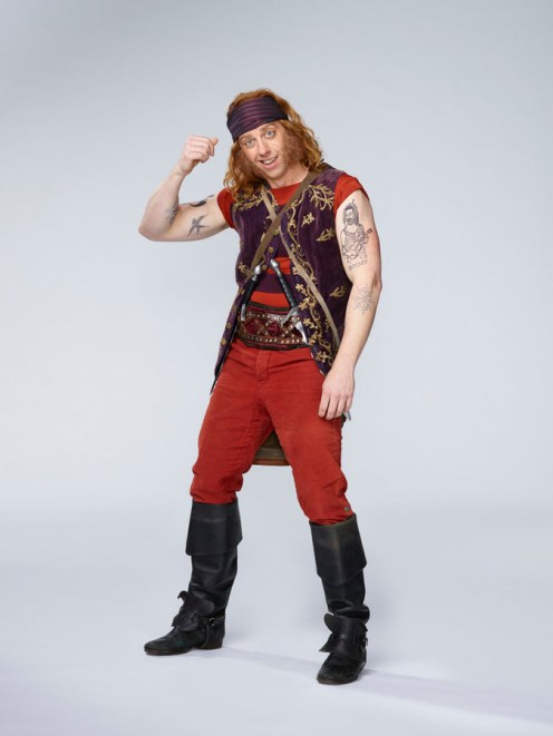 PETER PAN LIVE! -- Season: 2014 -- Pictured: Christian Borle as Smee -- (Photo by: Patrick Randak/NBC)