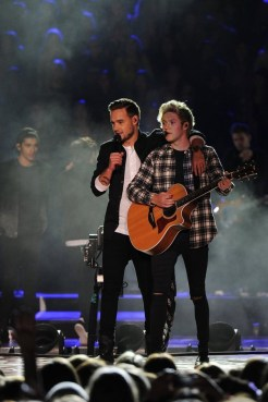 ONE DIRECTION: THE TV SPECIAL -- Pictured: (l-r) Liam Payne, Niall Horan of the band One Direction -- (Photo by: Jeff Daly/NBC)