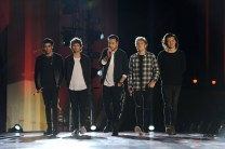 ONE DIRECTION: THE TV SPECIAL -- Pictured: (l-r) Zayn Malik, Louis Tomlinson, Liam Payne, Niall Horan, and Harry Styles of the band One Direction -- (Photo by: Jeff Daly/NBC)