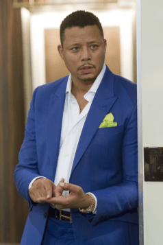 "EMPIRE: Lucious (Terrence Howard) runs a music empire in the ""Outspoken King"" episode of EMPIRE airing Monday, Jan. 14 (9:00-10:00 PM ET/PT) on FOX. ©2014 Fox Broadcasting Co. CR: Chuck Hodes/FOX"