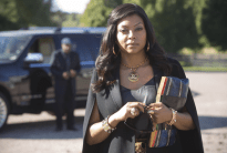 """EMPIRE: Cookie (Taraji P. Henson) visits an old friend in the """"The Devil Quotes Scripture"""" episode airing Wednesday, Jan. 21 (9:00-10:00 PM ET/PT) on FOX. ©2014 Fox Broadcasting Co. CR: Chuck Hodes/FOX"""