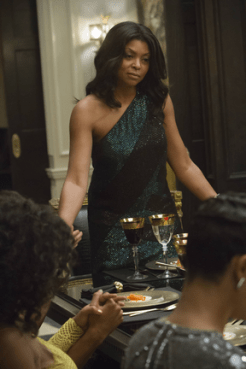 """EMPIRE: Cookie (Taraji P. Henson, L) syas grace in the """"The Devil Quotes Scripture"""" episode airing Wednesday, Jan. 21 (9:00-10:00 PM ET/PT) on FOX. ©2014 Fox Broadcasting Co. CR: Chuck Hodes/FOX"""