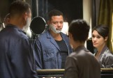 "EMPIRE: Lucious (Terrence Howard, L) tells Anika (Grace Gealey, R) that he has ALS in the ""False Imposition"" episode of EMPIRE airing Wednesday, Jan. 28 (9:00-10:00 PM ET/PT) on FOX. ©2014 Fox Broadcasting Co. CR: Chuck Hodes/FOX"