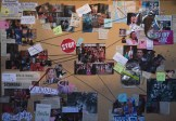 """GLEE: Sue's wall of hate in the """"The Hurt Locker, Part Two"""" episode of GLEE airing Friday, Jan. 30 (9:00-10:00 PM ET/PT) on FOX. ©2014 Fox Broadcasting Co. CR: Adam Rose/FOX"""