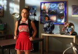 """GLEE: Kitty (Becca Tobin) helps Rachel find a set list in the """"The Hurt Locker, Part Two"""" episode of GLEE airing Friday, Jan. 30 (9:00-10:00 PM ET/PT) on FOX. ©2014 Fox Broadcasting Co. CR: Beth Dubber/FOX"""