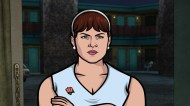 """ARCHER: Episode 4, Season 6 """"Edie's Wedding"""" (Airing Thursday, January 29, 10:00 PM e/p) Pam takes Archer to her sister's wedding but gets side-tracked with technical difficulties. Pictured: Edie Poovey (voice of Allison Tolman). CR: FX"""