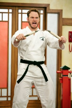 """PARKS AND RECREATION -- """"2017"""" Episode 701 -- Pictured: Chris Pratt as Andy Dwyer -- Photo by: (Ben Cohen/NBC)"""