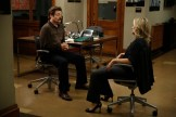 """PARKS AND RECREATION -- """"Funkin' Gonuts"""" Episode 704 -- Pictured: (l-r) Nick Offerman as Ron Swanson, Amy Poehler as Leslie Knope -- (Photo by: Tyler Golden/NBC)"""