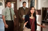 "PARKS AND RECREATION -- ""William Henry Harrison"" Episode 705 -- Pictured: (l-r) Chris Pratt as Andy Dwyer, Aubrey Plaza as April Ludgate -- (Photo by: Colleen Hayes/NBC)"