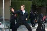 "PARKS AND RECREATION -- ""Save JJ's"" Episode 707 -- Pictured: Chris Pratt as Andy Dwyer -- (Photo by: Colleen Hayes/NBC)"
