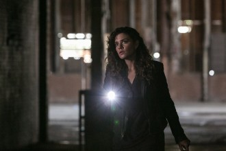 """CONSTANTINE -- """"Quid Pro Quo"""" Episode 110 -- Pictured: Anjelica Celaya as Zed -- (Photo by: Tina Rowden/NBC)"""