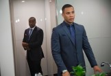 """EMPIRE: Vernon (Malik Yoba, L) and Andre (Trai Byers, R) chat in the """"Out Damned Spot"""" episode of EMPIRE airing Wednesday, Feb. 11 (9:01-10:00 PM ET/PT) on FOX. ©2015 Fox Broadcasting Co. CR: Chuck Hodes/FOX"""