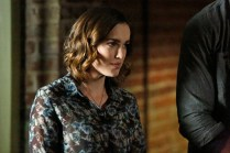 "MARVEL'S AGENTS OF S.H.I.E.L.D. - ""Aftershocks"" - In the midseason premiere, ""Aftershocks,"" Coulson's team must deal with the consequences of their war with Hydra as shocking revelations threaten to tear them apart, and Hydra makes a dangerous move that may involve a traitor in S.H.I.E.L.D.'s midst. ""Marvel's Agents of S.H.I.E.L.D."" returns for a dynamic, action-packed second half of season two, TUESDAY, MARCH 3 (9:00-10:00 p.m., ET) on the ABC Television Network. (ABC/Kelsey McNeal) ELIZABETH HENSTRIDGE"