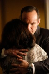 """MARVEL'S AGENTS OF S.H.I.E.L.D. - """"Aftershocks"""" - In the midseason premiere, """"Aftershocks,"""" Coulson's team must deal with the consequences of their war with Hydra as shocking revelations threaten to tear them apart, and Hydra makes a dangerous move that may involve a traitor in S.H.I.E.L.D.'s midst. """"Marvel's Agents of S.H.I.E.L.D."""" returns for a dynamic, action-packed second half of season two, TUESDAY, MARCH 3 (9:00-10:00 p.m., ET) on the ABC Television Network. (ABC/Kelsey McNeal) DONZALEIGH ABERNATHY, CLARK GREGG"""