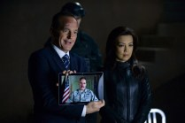 "MARVEL'S AGENTS OF S.H.I.E.L.D. - ""Aftershocks"" - In the midseason premiere, ""Aftershocks,"" Coulson's team must deal with the consequences of their war with Hydra as shocking revelations threaten to tear them apart, and Hydra makes a dangerous move that may involve a traitor in S.H.I.E.L.D.'s midst. ""Marvel's Agents of S.H.I.E.L.D."" returns for a dynamic, action-packed second half of season two, TUESDAY, MARCH 3 (9:00-10:00 p.m., ET) on the ABC Television Network. (ABC/Eric McCandless) CLARK GREGG, MING-NA WEN"