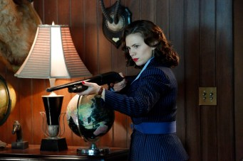 """MARVEL'S AGENT CARTER - """"Valediction"""" - Peggy faces the full fury of Leviathan, as Howard Stark makes his return in the explosive season finale of """"Marvel's Agent Carter,"""" TUESDAY, FEBRUARY 24 (9:00-10:00 p.m., ET) on the ABC Television Network. (ABC/Kelsey McNeal) HAYLEY ATWELL"""