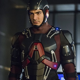 """Arrow -- """"Nanda Parbat"""" -- Image AR315C_0222b -- Pictured: Brandon Routh as Ray Palmer / The Atom -- Photo: Dean Buscher/The CW -- �© 2015 The CW Network, LLC. All Rights Reserved."""