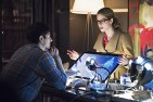 "Arrow -- ""Nanda Parbat"" -- Image AR315C_0124b -- Pictured (L-R): Brandon Routh as Ray Palmer and Emily Bett Rickards as Felicity Smoak -- Photo: Dean Buscher/The CW -- © 2015 The CW Network, LLC. All Rights Reserved."