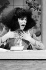 "SNL 40TH ANNIVERSARY SPECIAL -- Season 4, Episode 6 -- Pictured: Gilda Radner as Roseanne Roseannadanna during ""Weekend Update"" on November 18, 1978 -- (Photo by: Al Levine/NBC)"