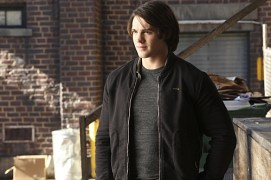 "The Vampire Diaries -- ""Stay"" -- Image Number: VD614c_0360.jpg -- Pictured: Steven R. McQueen as Jeremy -- Photo: Annette Brown/The CW -- © 2015 The CW Network, LLC. All rights reserved."