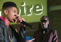 "EMPIRE: Hakeem (Bryshere Gray, L) performs in the special two-hour ""Die But Once/Who I Am"" Season Finale episode of EMPIRE airing Wednesday, March 18 (8:00-10:00 PM ET/PT) on FOX. Also pictured: Snoop. CR: Chuck Hodes/FOX"