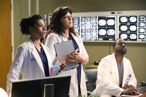 "VIDEO: Preview 'Grey's Anatomy' Season 11, Episode 14 ""I Feel the Earth Move"""