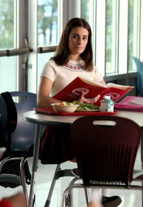 """GLEE: Rachel (Lea Michele, R) in a flashback to 2009 in the special two-hour """"2009/Dreams Come True"""" Series Finale episode of GLEE airing Friday, March 20 (8:00-10:00 PM ET/PT) on FOX. ©2015 Fox Broadcasting Co. CR: Mike Yarish/FOX"""