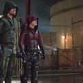 """Arrow -- """"Suicidal Tendencies"""" -- Image AR317B_0238b -- Pictured (L-R): Stephen Amell as Oliver Queen / The Arrow and Colton Haynes as Roy Harper / Arsenal -- Photo: Cate Cameron/The CW -- �© 2015 The CW Network, LLC. All Rights Reserved."""