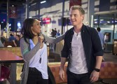 """The Flash -- """"Out of Time"""" -- Image FLA115A_0210b -- Pictured (L-R): Candice Patton as Iris West and Rick Cosnett as Detective Eddie Thawne -- Photo: Diyah Pera/The CW -- © 2015 The CW Network, LLC. All rights reserved."""