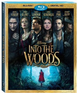 Disney's Into the Woods Bluray DVD image.