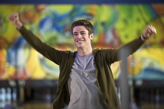 "The Flash -- ""Out of Time"" -- Image FLA115A_0255b -- Pictured: Grant Gustin as Barry Allen -- Photo: Diyah Pera/The CW -- © 2015 The CW Network, LLC. All rights reserved."