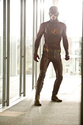"The Flash -- ""All Star Team Up"" -- Image FLA118B_0060b -- Pictured: Grant Gustin as The Flash -- Photo: Cate Cameron/The CW -- © 2015 The CW Network, LLC. All rights reserved."