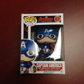 We So Nerdy 6-month Giveaway, Captain America Funko Pop