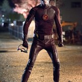 """The Flash -- """"Fast Enough"""" -- Image FLA123C_0587b -- Pictured: Grant Gustin as The Flash -- Photo: Dean Buscher/The CW -- �© 2015 The CW Network, LLC. All rights reserved"""