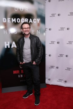 "MR. ROBOT -- ""Tribeca Film Festival Premiere of ""MR. ROBOT"" in New York, NY on Sunday, April 26, 2015 "" -- Pictured: Christian Slater ""Mr. Robot"" -- (Photo by: Neilson Barnard/USA Network)"