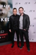 "MR. ROBOT -- ""Tribeca Film Festival Premiere of ""MR. ROBOT"" in New York, NY on Sunday, April 26, 2015 "" -- Pictured: (l-r) Rami Malek, Christian Slater ""Mr. Robot"" -- (Photo by: Neilson Barnard/USA Network)"