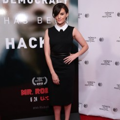 """MR. ROBOT -- """"Tribeca Film Festival Premiere of ?MR. ROBOT? in New York, NY on Sunday, April 26, 2015 """" -- Pictured: Frankie Shaw -- (Photo by: Neilson Barnard/USA Network)"""
