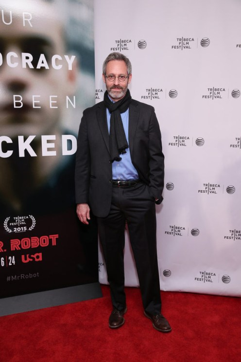 "MR. ROBOT -- ""Tribeca Film Festival Premiere of ""MR. ROBOT"" in New York, NY on Sunday, April 26, 2015 "" -- Pictured: Michael Gill -- (Photo by: Neilson Barnard/USA Network)"
