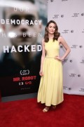 """MR. ROBOT -- """"Tribeca Film Festival Premiere of """"MR. ROBOT"""" in New York, NY on Sunday, April 26, 2015 """" -- Pictured: Emmy Rossum -- (Photo by: Neilson Barnard/USA Network)"""