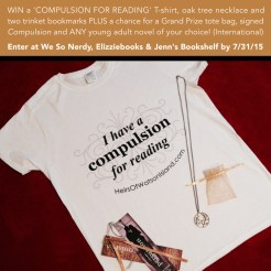 """Persuasion"" by Martina Boone Giveaway T-shirt prize pack."