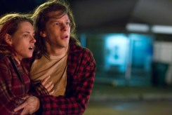 American Ultra fan site Exclusive Image of Kristen Stewart and Jesse Eisenberg.